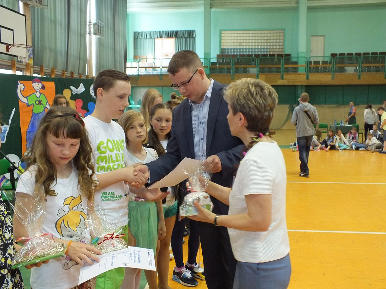 Dzień dziecka w jeddnej z Toruńskich szkół