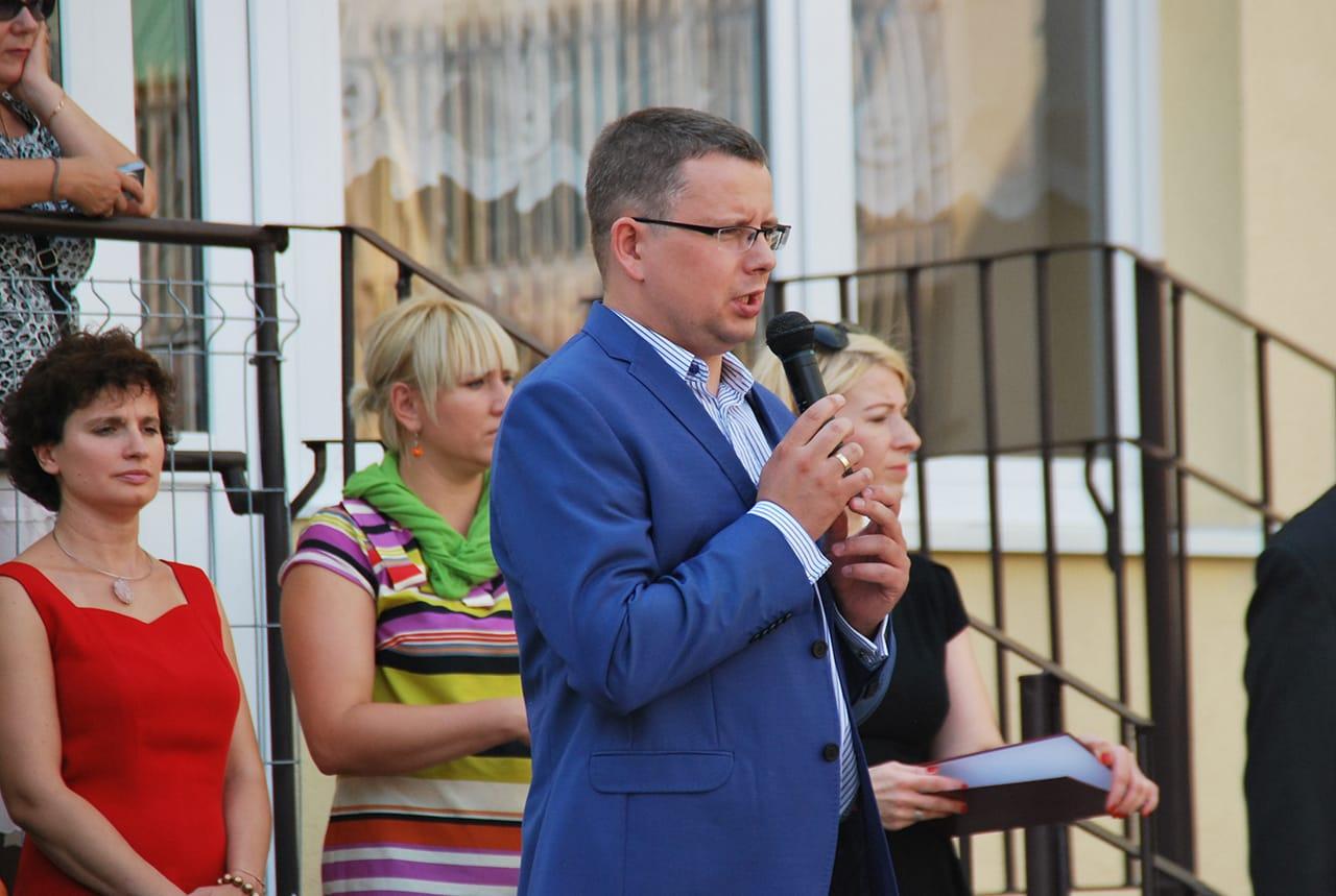 Rozpoczęcie roku szkolnego w jednej z Toruńskich szkół
