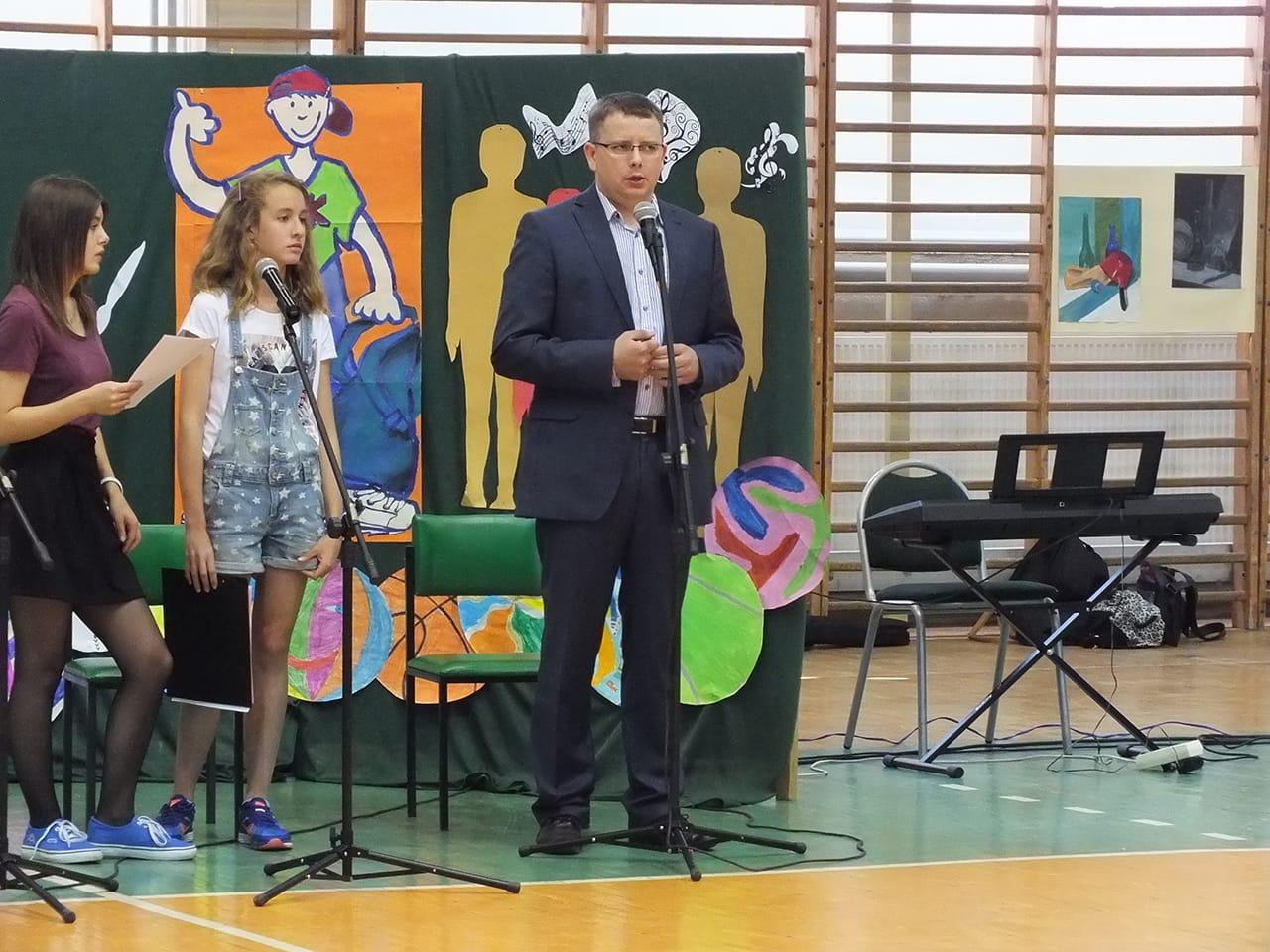 Zakończenie roku szkolnego w jednej z Toruńskich szkół