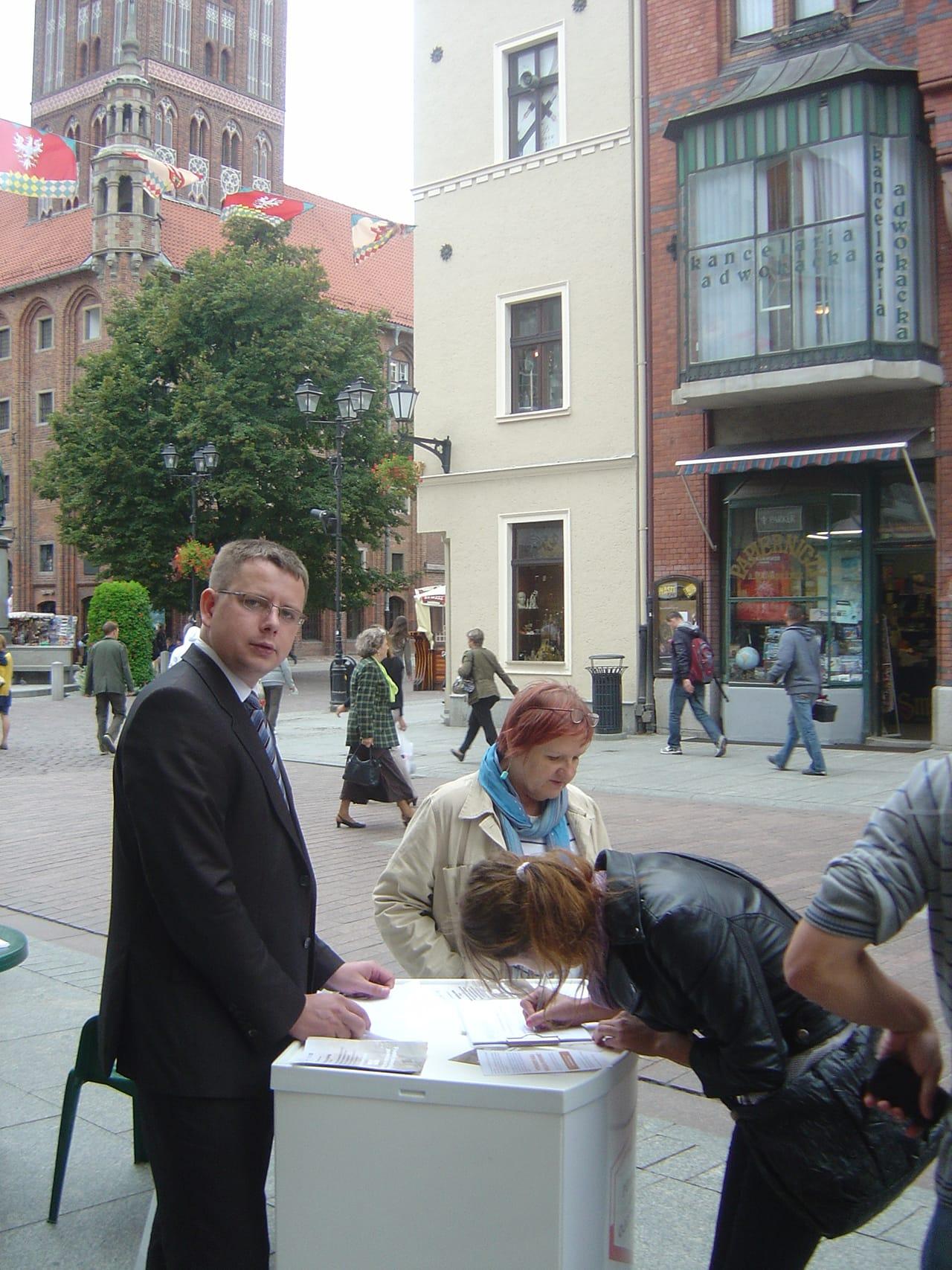 Zbiórka podpisów w słusznej sprawie